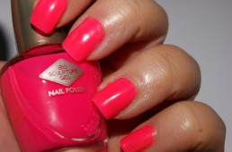 Bio Sculpture Nail Polish in 105 Jinkie Pink Review Swatch 005